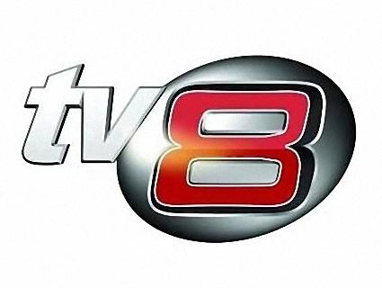 Официално лого на канала TV8